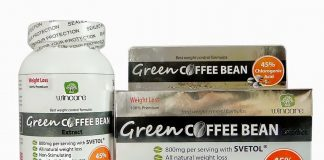 Thực phẩm chức năng giảm cân Green Coffee Bean