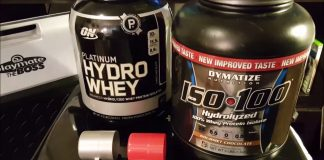 So sánh whey protein iso 100 với whey protein hydrolyzed