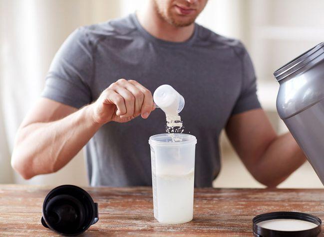 pha whey protein tăng cơ