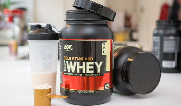 Pha whey protein 100 gold standard