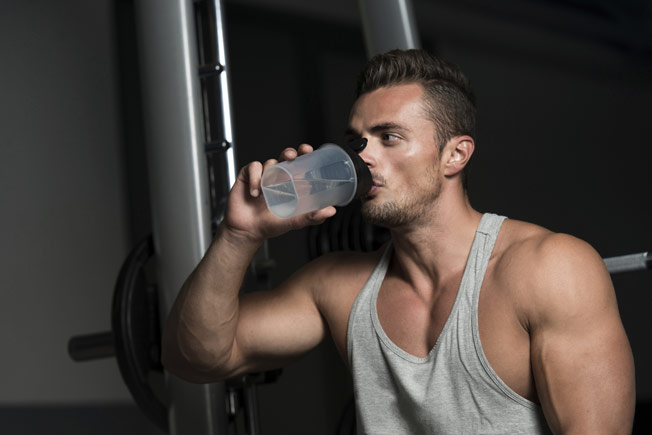 sữa tăng cân tập gym