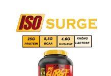 Đánh giá sản phẩm Whey Protein Iso Surge