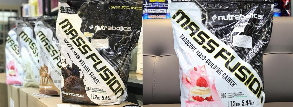 Mass Fusion là sản phẩm tăng cân từ hãng Mutant của Canada. Công thức tăng cân chỉ chứa các nguồn protein thuần túy với zero amino spiking.