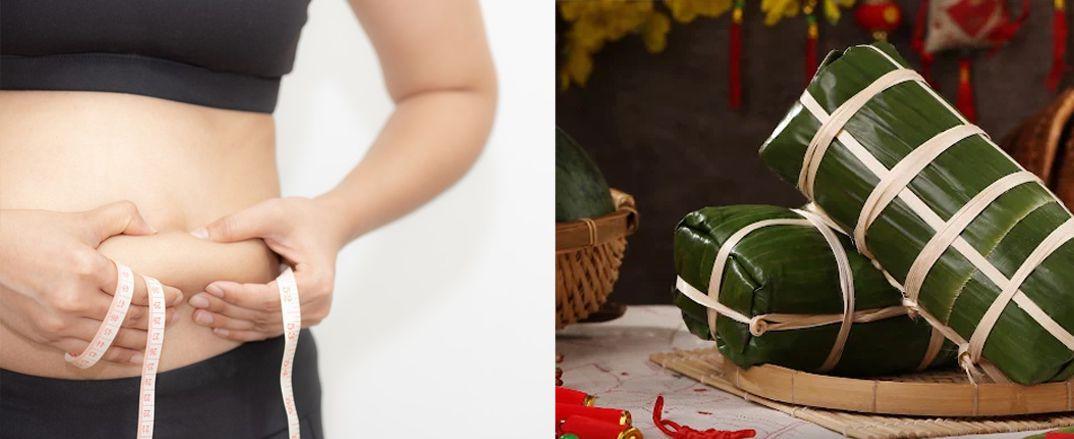 Bánh Tét bao nhiêu calo. Mách bạn cách ăn bánh Tét không lo béo trong ngày Tết.