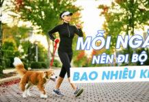 Bạn có biết mỗi ngày nên đi bộ bao nhiêu km ?