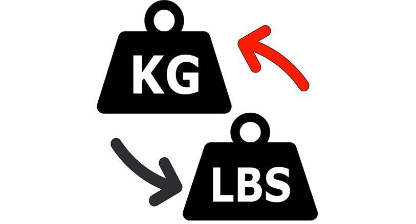 """Giải đáp thắc mắc: """"1kg bằng bao nhiêu pounds """""""