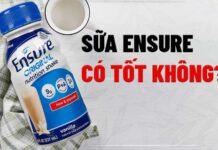 Uống sữa Ensure có béo hay không ? Mời các bạn tham khảo nội dung bài viết dưới đây nhé!