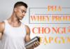 Tìm hiểu cách pha Whey Protein đúng cách cho người tập gym qua bài viết dưới đây để bổ sung phù hợp và đúng cách tránh lãng phí trong quá trình bổ sung Whey..