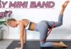 Bạn đã biết cách tập mông với dây kháng lực Mini Band. Tham khảo ngay nội dung bài viết để tập luyện hiệu quả cho vòng 3 saen chắc quyến rũ nhé