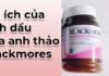 Lợi ích của loại hoa này là gì? mời các bạn tìm hiểu qua sản phẩm tinh dầu hoa anh thảo Blackmores nổi tiếng được các chị em đang rất ưa chuộng này nhé!