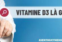 Vitamine D3 là gì ? Tại sao cần bổ sung Vitamine D3 ? Bổ sung đúng cách Vitamine D3 cho cơ thể như thế nào là nội dung bài viết này, mời các bnaj tham khảo!