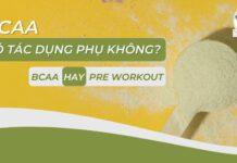 BCAA có tác dụng phụ không ? Nên dùng BCAA hay Pre Workout ? Chi tiết bài viết dưới đây sẽ giúp bạn trả lời chính xác thắc mắc....