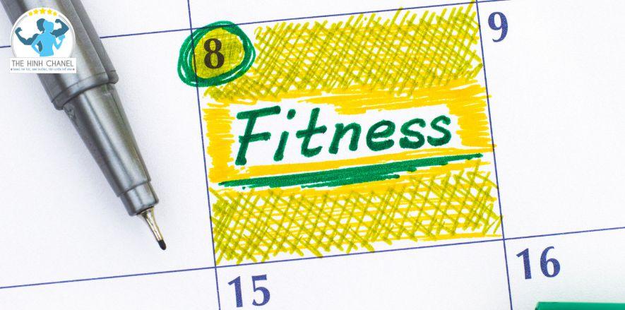 Thể Hình Chanel chúc các bạn tập luyện hiệu quả với lịch tập thể hình hợp lý dành cho người tập gym- thể hình...