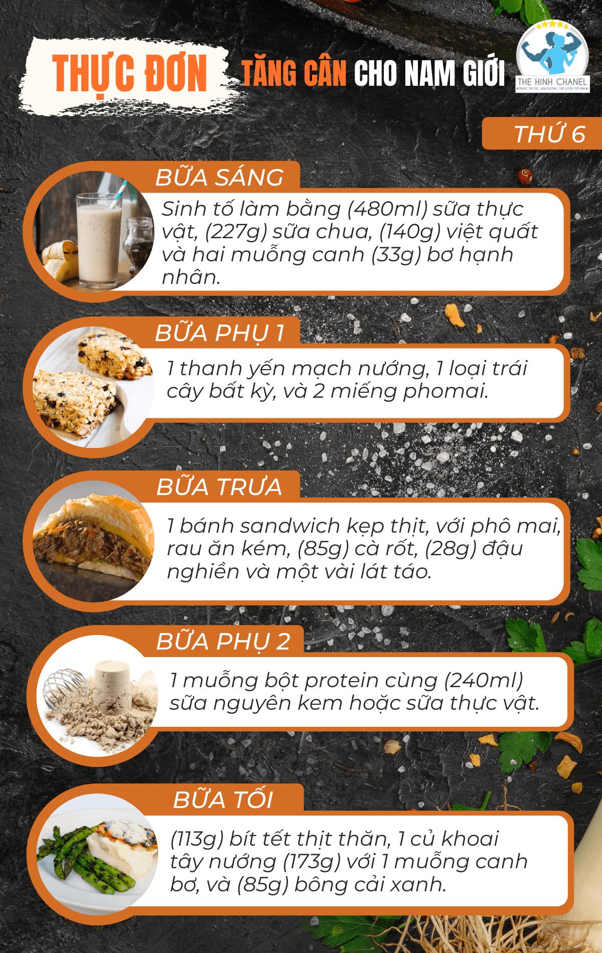 Nam giới muốn tằn cân nhanh cần ăn bao nhiêu calo mỗi ngày? Bí quyết tăng cân cho nam giới chỉ trong 1 tháng đơn giản có thật sự hiệu quả ?
